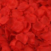 8000Pcs Red Silk Rose Petals Artificial Flower Wedding Party Vase Decor Bridal Shower Favor Centerpieces Confetti