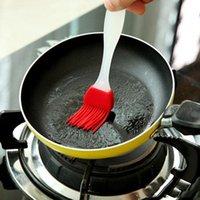 Cocina Herramientas para hornear Silicona Bbq Oil Butter Cepillo Cocinero Pastelería Parrilla Pan Pan Bakeware Paseo de aceite Crema Barbacoa Cepillo de pelo de silicona LD70304