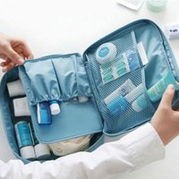 Storage Bags Multifunction Man Women Makeup Bag Nylon Cosmetic Beauty Case Make Up Organizer Toiletry Kits Travel Wash Pouch