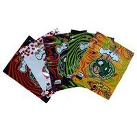 embalagem do saco de embalagem Embalagem um up bolsa OneUP Mylar Edibles Sacos Impressão dos desenhos animados Pacote à prova de crianças com Ziplock Revable Packet 5 Color LDPE Atacado