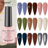 Nail Gel Supwee 10ml Polish Soak Off Manicure Varnishes Semi-permanent UV LED Lacquers Enamel All For Nails Art