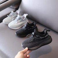 Designer Kids Shoes Breathable Sneakers Baby Knaye West Trainers Infant Children Boys And Girls Chaussures Pour Enfants Summer Spring GjT