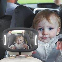 Autres accessoires intérieurs Siège de voiture Rétroviseur Bébé Visualisation de la télécommande ABS ABS ABRYLIC ABS
