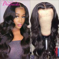 Ali Express - women's 30 inch long lace wig, mesh, 6x6 and 6X1 split, medium brown, high density, natural Peruvian hair