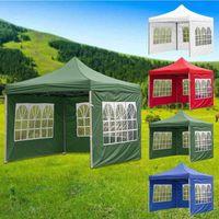 الخيام والملاجئ 1 قطع أربعة زاوية قابلة للطي خيمة القماش مخصص للماء التخييم في الهواء الطلق كشك شرفة استبدال