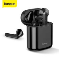 Baseus TWS بلوتوث سماعة W09 ذكي بصمة لمس اللاسلكية مع ستيريو باس الصوت الذكية توصيل HD سماعة