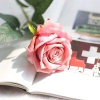Шелковые Цветы Искусственная роза Цветок Реальный Прикосновение Пион Декоративная партия Цветы Поддельные свадьбы Букет невесты Рождественский Декор 13 Цветов OOD6347