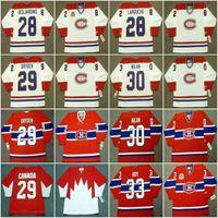 Монреаль Канадиенс Хоккей Джерси 28 Эрик Десяджинс 1993 Larouche Dryden Nilan 1986 Worsley Vachon Price Kordic Napier Lemieux 33 Patrick Roy 35 Mike McPhee
