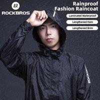 RockBros Велоспорт Водонепроницаемая Куртка Мужчины Дышащий Светоотражающий Плащ капюшон Дождь Дождевременное Открытое Спорт Ветровка Европы Размер