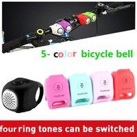 Bici Corni Bicicletta Bell Bell Horn 90db Electronic Handle Handle And Anello Alarm Allarme Accessori