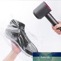 100 PCS PVC calor encogimiento película envoltura organizador bolsa transparente zapato bolsa al por mayor almacenamiento claro plástico venta al por menor sello embalaje bolsa de embalaje precio de fábrica diseño de diseño de expertos
