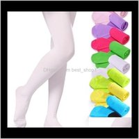 Leggings Pants Clothing Baby, & Maternity Drop Delivery 2021 Girls Pantyhose Tights Kids Dance Socks Candy Color Children Veet Legging Clothe