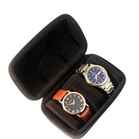 Watch Boxes & Cases Smart Carrying Case Travel Storage Box EVA Protector Portable Jewelry Hard With Pillow For Wristwatches