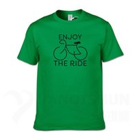 Цвета дизайна моды наслаждайтесь ездой Biker T рубашка мужчины велосипеды подарок Teeshirt BMX футболка MTB Tops Hipster Tshirt Unisex 3XL мужские футболки мужские