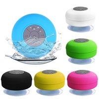 BTS-06 Mini Wireless Bluetooth-Lautsprecher Stereo-LOUNDSPEAKER-tragbare wasserdichte Freisprecheinrichtung für Badezimmer-Pool-Auto-Strand-Outdoor-Duschlautsprecher