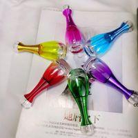 20 мл Мода цветные парфюмерные бутылки стекло косметические сущности нефть личной уход жидкость пустые распылительные бутылки DHD8274