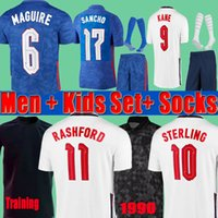 ENGLAND Camisa de futebol da INGLATERRA 2020 2022 KANE STERLING RASHFORD SANCHO HENDERSON BARKLEY MAGUIRE 20 22 camisas de futebol