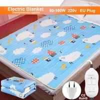 Blankets 220V Electric Blanket Thicker Heater Double Body Warmer Heated Thermostat Heating