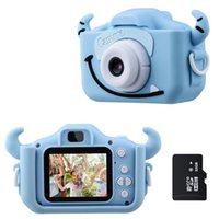 Kids Camera 1080P HD With 32G Card 2.0 Inches Color Screen Dual Selfie Video Digital Toys Gift for Children