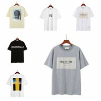 21ss Women Mens Designer off fog fear of god essentials white t shirts Luxury Tee brand Tops angels palm Hoodies face north jacket island