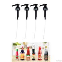 Pcs Syrup Bottle Nozzle Oyster Sauce Ketchup Squeeze Press Pressure Oil Sprayer Pump Dispenser Wholesales Kitchen Faucets