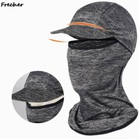 Wide Brim Hats Cycling Neck Motorcycle Face Mask Summer Sun Protection Ski Snowboard Wind Cap Balaclavas Sports Tactical Shield