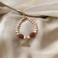 S2209 Fashion Jewelry Memaid Tail Pearl Bracelet Exquisite Baroque Irregular Pearls Beaded Bracelets