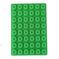 Donut Silicone Mold Bakeware Mini 48 Hole Ice Cube Mould Chocolate Biscuit Cake Molds Kitchen Baking Donuts Pan MouldsLLE8752