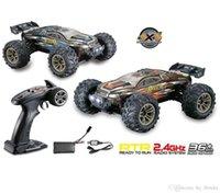 1:16 RC автомобиль игрушка 4WD матовый двигатель вождения пустыни грузовики дисководки гоночные автомобили 36 км / ч Бигфут бездорожный грузовик автомобиль игрушка детский подарок