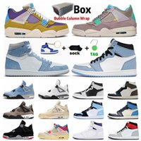 University Blue 1 1s Pine Green Royal Toe Obsidian UNC Chaussures de basket-ball pour hommes Sail Black Cat 4 4s What The Guava Ice Bred Sports Women Sneakers