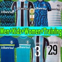 2021 Gremio Soccer Jerseys d.costa # 10 Guild Giuliano 21/22 Ramiro Geromel Luan Maicon Fernandinho Grêmio Jersey Män Kvinnor Training Vest Football Shirts Thailand