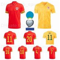 20-21 أوروبا كأس ويلز كرة القدم جيرسي 11 بيل 10 رامزي 7 ألين 4 ديفيز 16 ويلسون 6 ويليامز بروكس مجموعات قميص كرة القدم هينيسي