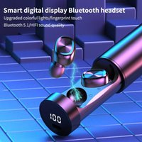 B9 5.1ワイヤレス8D HIFI TWS Bluetoothイヤホンスポーツマイクイヤホンゲーミングミュージックヘッドセット