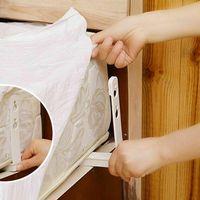 Abbigliamento Armadio Storage 4pcs / Set Home El Bed Pins Trapuntatore Fixator Coperta Pulsante fisso Pulsante Piumini Clip da letto Letto Fissaggine Unscella
