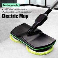 Rechargeable Floor Wiper Cordless Sweeping steam mop spinning mop electric floor cleaner mop Floor Washer Wireless Rotating