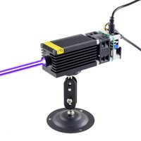 500mW   1W Violet Laser Module For DIY Engraver Head With 12V And PWM Control (Black) Flashlights Torches