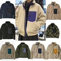 Designer Mężczyzna Patagonias Jacket Patagonia Grube Ciepłe Classic Classic Retro Jesień Winter Para Modele Lamb Cashmere Fleece Płaszcz Mężczyźni Kobiety Odzież