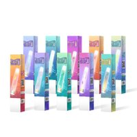 Authentic code R&M dazzle1000 Disposable E cigarette RandM 1000puffs r and m glowing vapes