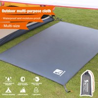 Outdoor Pads Multifunctional Sunshade Mat Waterproof Camping Tarp Canopy Shelter Ground Sheet Picnic Blanket Tent For Hiking