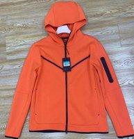 M-XXL Teknoloji Polar Tam Zip Katı Erkekler Ceketler Hoodies Tişörtü 2 Renkler
