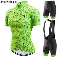 Phtxolue 2021 Велоспорт Набор Женская одежда Носить горный велосипед Велосипедные майки Kit1