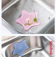 الغبار المكونات تصفية المياه tpr متعددة الألوان ستار الحمام استنزاف الشعر الماسك حمام سدادة المكونات بالوعة مصفاة تصفية دش HHD6462