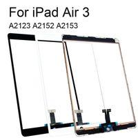 iPad空気のためのデジタイザの取り替えが付いている100%テストタッチスクリーンのガラスパネル3 2019 A2123 A2152 A2153