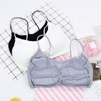 Bustiers & Corsets Fashion Ladies Women Comfort Strapless Summer Bra Women's Wrap Tube Top Cropped Tanks Female Underwear Tops
