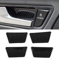 For Audi Q5 8R 2012-2016 Car Accessories Inner Door Handle Bezel Bowl Cover Frame Sticker Trim Interior Decoration Moulding