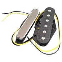 Conjunto de 2pcs TL Electric Guitar Pickup Cock and Puente para Accesorios Ayudas de entrenamiento de golf