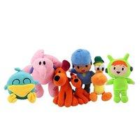 Plush Dolls Soft Blue Boy Pocoyo Elephant Elly Duck Pato Puppy Loula Toy Stuffed Animal