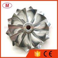 GTA4594 434335-0017 70.30 94.00mm 10+0 blades Performance Turbocharger Aluminum 2618 Milling Turbo Billet compressor wheel for 702335-0001 Cat C-12 EURO 2 Cartridge