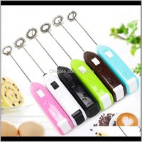 Blender Small Appliances Drop Delivery 2021 1Pc Electric Milk Drink Coffee Whisk Mixer Egg Beater Frother Foamer Mini Handle Stirrer Househol