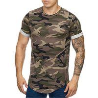Été Sports de plein air T-shirt T-shirt Personnalité Personnalité Zipper Pochette Design Rond Col À Manches courtes Casual Plus Taille Mens Vêtements